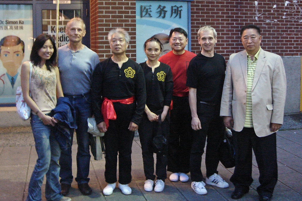 Strathcona Group with Peter at Chinatown Night Market.